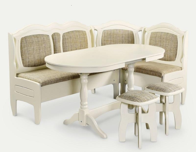 dae68fd6620e Элементы мебели : Кухонный уголок Престиж слоновая кость